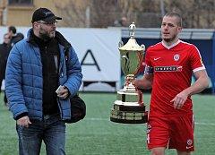 Finále fotbalové Tipsport ligy mezi Bohemians a Brnem na Vyšehradě.