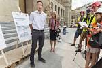 Prohlídka rekonstrukce Národního muzea, Jakub Hendrych, architekt z Institutu plánování a rozvoje hl. m. 21. 8. 2018