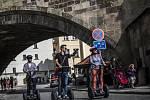 Segwaye v Praze. Ilustrační foto.