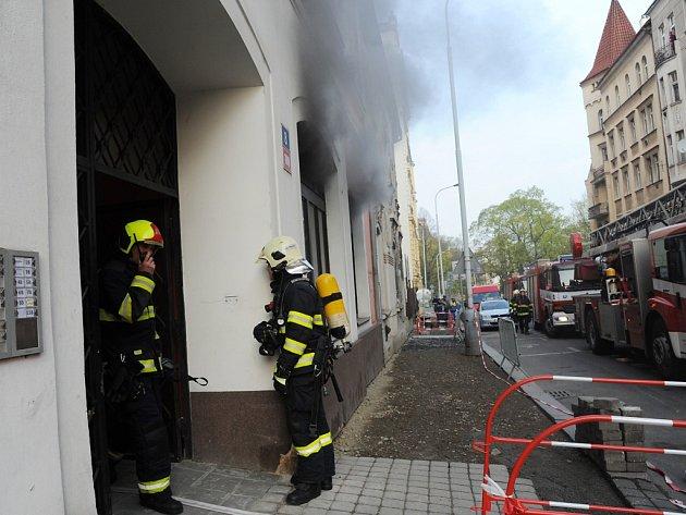 Požár Kuchyně.