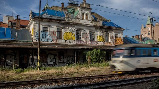 Rekonstrukce nádraží Vyšehrad.