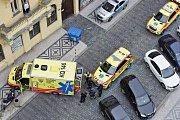 Přepadení v Opletalově ulici.