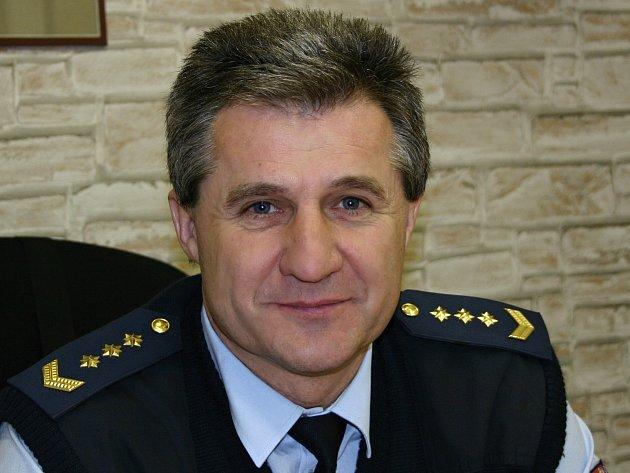 Ředitel Ivan Horák při rozhovoru pro Deník