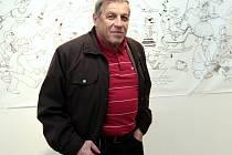 Ilustrátor, karikaturista a místopředseda České unie karikaturistů Jaroslav Dostál.