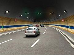 Pražský tunel Blanka - vizualizace.