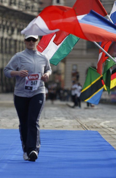 Jubilejní patnáctý ročník Prague International Marathon běžeckého seriálu (PIM) se konal 28. března 2009.