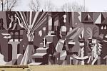Výsledky výtvarné soutěže Mural Art Vltavská 2021. 1. místo: Jakub Tytykalo.