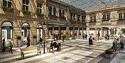 Vizualizace nového outletu v pražské Ruzyni