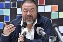 Čínský umělec Aj Wej-wej.