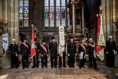 150 let kominické jednoty si 26. května v centru Prahy přípomínali desítky kominíků.