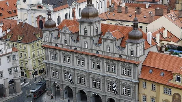 Zrekonstruovaná Malostranská beseda v Praze 1. března 2010.