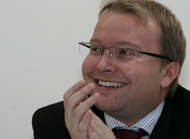 Tomáš Chalupa (ODS), starosta Prahy 6, poslanec PČR.