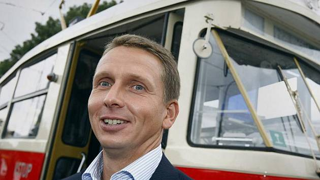 Martin Dvořák, generální ředitel pražského dopravního podniku.