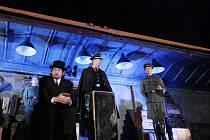 Představení Modlidba pro Kateřinu Horovitzovou ve vlaku Lustig. Ilustrační foto.