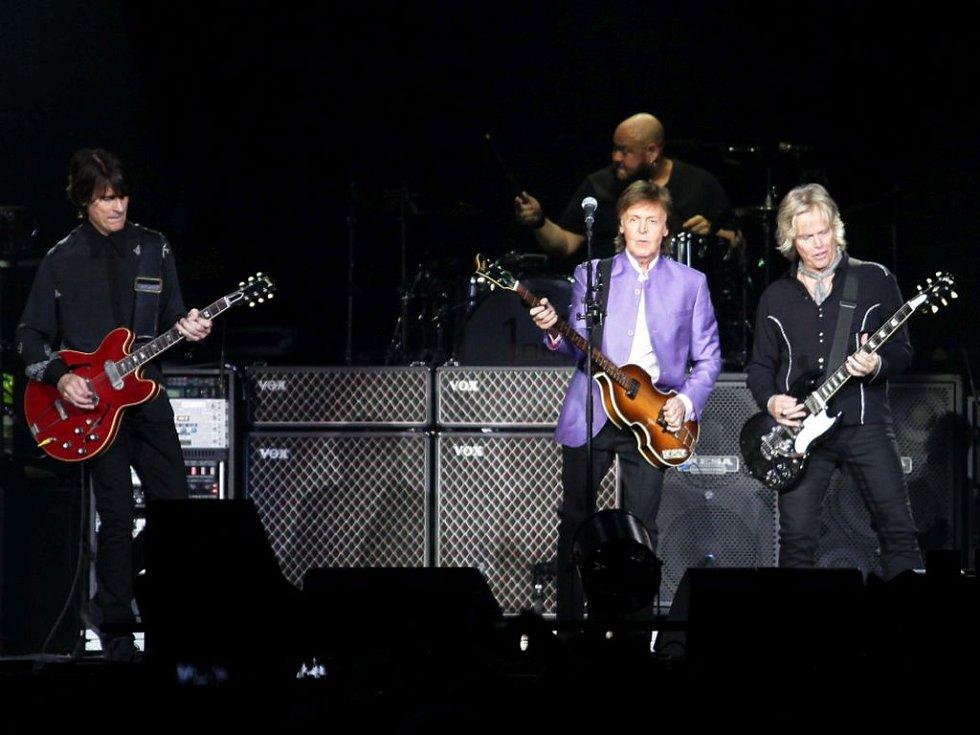 Paul McCartney - koncert v O2 Areně.