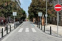Rekonstrukce ulice Belgická.
