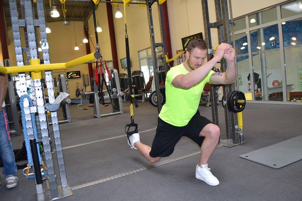 Lukáš Kverka, manažer fitness centra v Aquapalace Praha v Čestlicích.