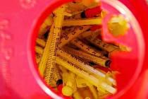 Injekční stříkačky pro narkomany./Ilustrační foto