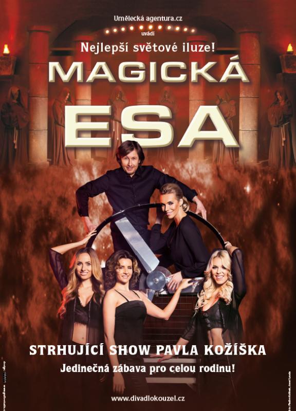 Divadlo kouzel Pavla Kožíška vás v sobotu zve na Magická esa.