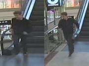 Podezřelý muž na útěku.