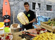River Food Festival na Smíchovské náplavce.