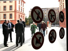 Justiční areál Na Míčánkách v pražských Vršovicích.