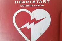 Defibrilátor.
