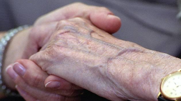 Pomoc seniorům. Ilustrační foto.