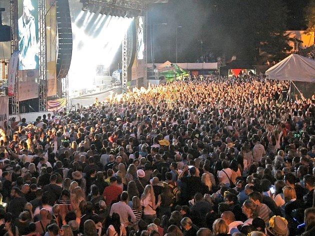 Letní koncert. Ilustrační foto.