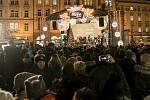 Po celém Česku se díky Deníku zpívaly 13. prosince koledy. Nejinak na pražském Staroměstském náměstí.