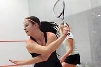 TEREZA SVOBODOVÁ patří k největším talentům českého squashe. Teď ji čeká mistrovství ČR dospělých.