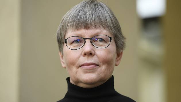 Dočasná ředitelka Národní galerie Praha Anne-Marie Nedoma.