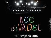 Plakát Noci divadel.