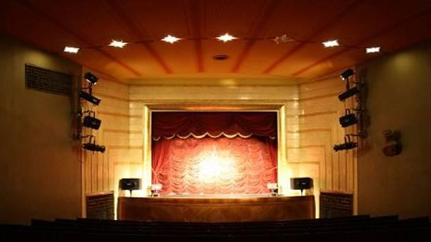 Scéna Národního divadla marionet.