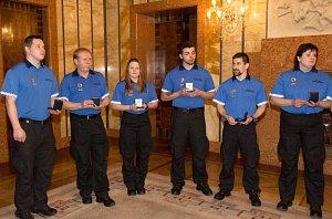Ocenění pražských strážníků