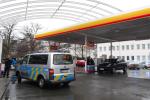 Přepadení čerpací stanice na pražském Žižkově