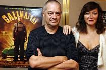 SPOKOJENÍ HOSTÉ. Herečce Julii Ferrierové a režiséru Jean-Pierre Jeunetovi se v Praze líbí.