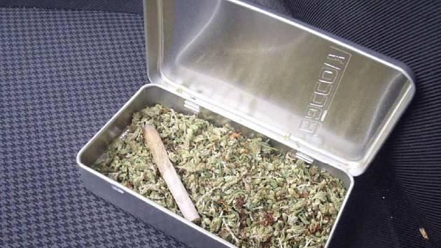 Marihuana. Ilustrační foto