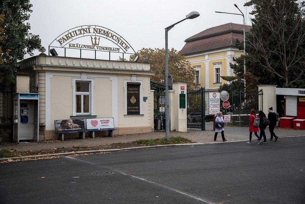 Fakultní nemocnice Královské Vinohrady v Praze.
