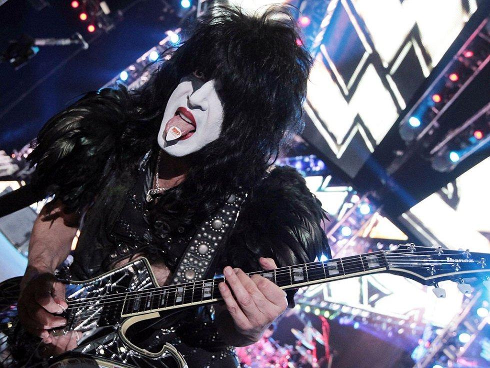 Koncert skupiny Kiss v O2 Areně.