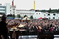 Den Kozla v areálu pivovaru ve Velkých Popovicích.