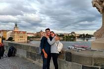 Claudia a Francesco zůstali v době epidemie koronaviru v Česku.