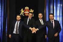 Primátoři Budapešti, Bratislavy, Prahy a Varšavy stvrdili v maďarské metropoli na půdě tamní Středoevropské univerzity Pakt svobodných měst.