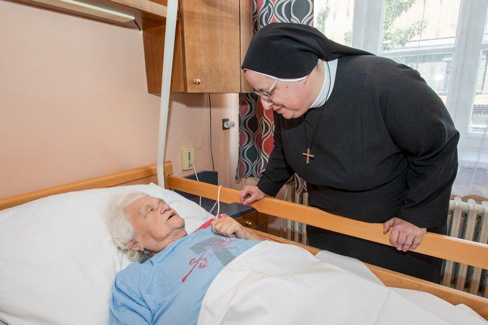 Nemocnice sv. Kříže Žižkov je spravována Milosrdnými sestrami sv. Kříže.