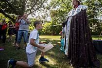 Zábavné odpoledne Karel IV – Dětské hraní.