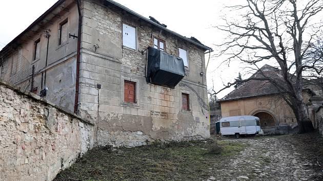 Bývalý squatt Cibulka 15. ledna 2019.