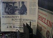 Výstava Hračky v časech 1. republiky v libeňské Grabově vile.