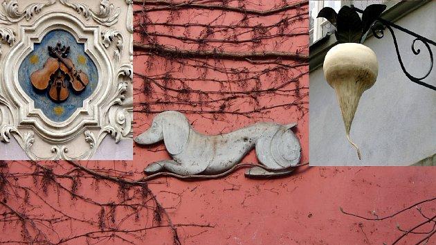 V Praze se nachází skoro 300 domovních znamení