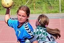 Dvanáctiletá Magda Dražanová, kapitánka vršovického Sokola