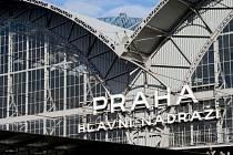 Hlavní nádraží v Praze. Ilustrační foto.